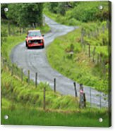 Car 88 Donegal International Rally Acrylic Print