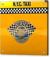 Car - City - Nyc Taxi Acrylic Print