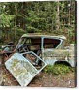 Car Graveyard In Smaland Acrylic Print