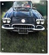 Car On The Grass Acrylic Print