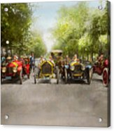 Car - Race - Hold On To Your Hats 1915 Acrylic Print