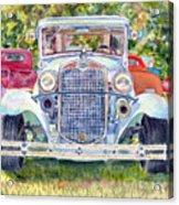 Car Show Acrylic Print