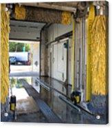 Car Wash Interior Acrylic Print