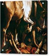Caravaggio: St. Paul Acrylic Print by Granger