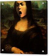 Caravaggio's Mona Acrylic Print