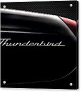 Carbon Black Thunder Acrylic Print
