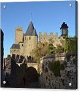 Carcassonne Castle Acrylic Print