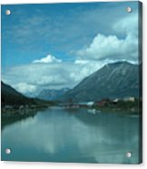 Carcross - So Much Blue Acrylic Print