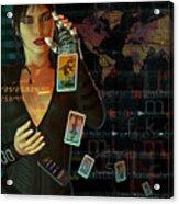 Card Reader Acrylic Print