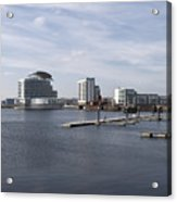 Cardiff Bay 3 Acrylic Print