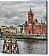 Cardiff Bay Skyline Acrylic Print