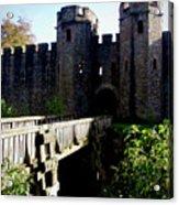 Cardiff Castle Gate Acrylic Print