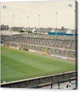 Cardiff - Ninian Park - South Stand Grange End 1 - August 1991 Acrylic Print