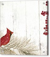 Cardinal Holiday IIi Acrylic Print