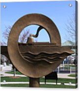 Carferry Sculpture Acrylic Print