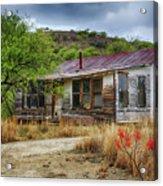Cargill Residence At Ruby Arizona Acrylic Print