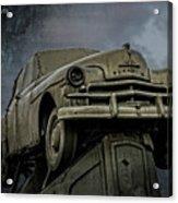 Carhenge - Plymouth Rock Acrylic Print