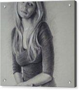 Cari Acrylic Print
