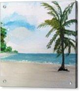 Caribbean Beach Acrylic Print