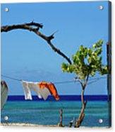 Caribbean Blues 3 Acrylic Print