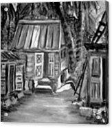 Caribbean Country House Acrylic Print