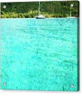 Caribbean Cruising Acrylic Print