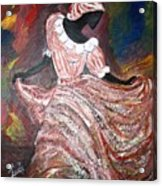 Caribbean Dancer Acrylic Print