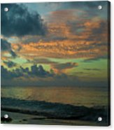 Caribbean Early Sunrise 2 Acrylic Print