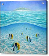Caribbean Island Dream Acrylic Print