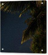 Caribbean Nights Anse Chastanet Acrylic Print
