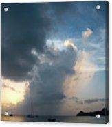 Caribbean Skies And Light 1 Acrylic Print