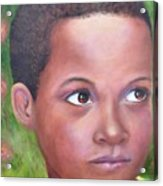 Caribe Child Acrylic Print