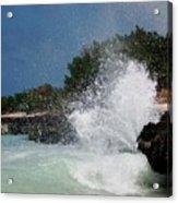Caribe Splash Acrylic Print