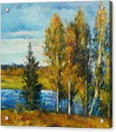 Cariboo Fall Acrylic Print