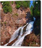 Caribou Falls Acrylic Print