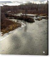 Caribou Stream Looking East Acrylic Print