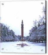Carillon In Winter Acrylic Print