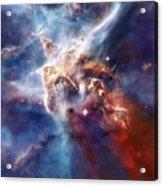 Carina Nebula Pillar Acrylic Print