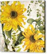 Carina Sunflowers Acrylic Print