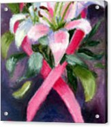 Caring Aceo Acrylic Print