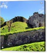 Carisbrooke Castle - Isle Of Wight Acrylic Print