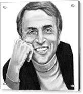 Carl Sagan Acrylic Print