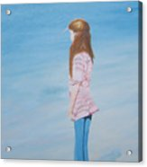 Carlee By The Sea Acrylic Print