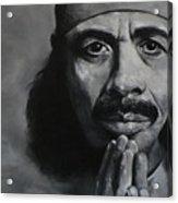 Carlos Santana - Peace Acrylic Print