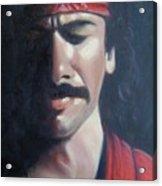 Carlos Santana Acrylic Print