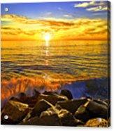 Carlsbad Sunset Acrylic Print