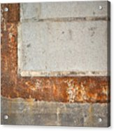 Carlton 14 - Abstract Concrete Wall Acrylic Print