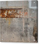 Carlton 16 Concrete Mortar And Rust Acrylic Print