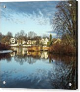 Carleton Place On The Mississippi - 18 Acrylic Print