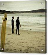 Carmel Beach, Ca Acrylic Print